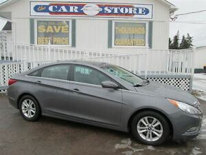 2011 Hyundai Sonata GL SUNROOF!! LOW KMS!! HEATED SEATS!! BLUETO
