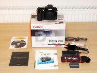 Canon EOS 20D DSLR Camera body - AS NEW