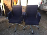 Two Stylish Office/Desk Chairs (price each)