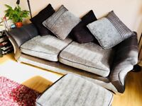 REDUCED - Luxury Versatile Sofa bed and Storage Footstool in Excellent Condition (Sofabed)