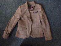 zara blazer style jacket age 11-12 yrs girls