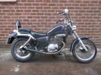 Suzuki marauder 125cc with MOT cruiser bike