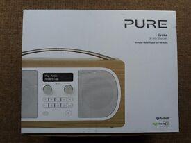 Pure Evoke D6 with Bluetooth (Oak) Digital and FM Radio