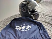 MT motorbike helmet