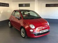 FIAT 500 LOUNGE/IMMACULATE CONDITION/ONLY58k/FULL MOT/6 MONTHS WARRANTY/AS NEW!!