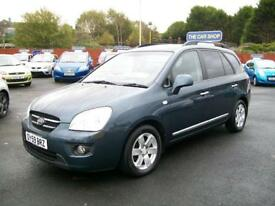 KIA CARENS 2.0 CRDI GS Auto [7 Seat] AND ONE LADY OWNER FROM NEW (moonlight blue) 2009