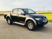 MITSUBISHI L200 2.5 DI-D 2007(07)REG**AIR CON**METALLIC BLACK**EX COMPANY OWNED*4x4**