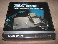 M-Audio Black Box Guitar Recording Interface Pedal Board