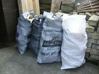 Large Bags Of Firewood Offcuts, Ready Bagged And Cut To Size, Ready For Winter
