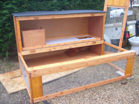 """chicken coop 24x24""""from £35.00 7days 07889465089 up from hampden park must for viewing"""