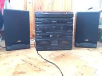 JVC Amp with speakers