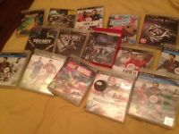 Selection of games for PS3