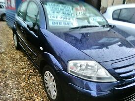 2007 citroen c3 diesel one owner only £30 a year road tax