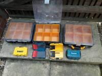Jcb makita dewalt storage box boxes