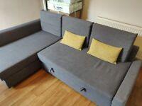 Ikea FRIHETEN Sofa - Dark Grey
