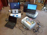LAPTOPS PRINTERS PC TOWER INK WEBCAMS LEADS ETC.