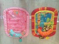 2 X tummy time mats