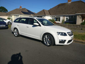 Skoda Octavia 2.0 TDI CR vRS Estate 5d - Manual 6 speed, 86100 miles. MOT 10 Sept. £9500 ono