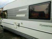 Wanted Hymer read full ad
