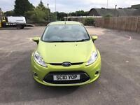 Ford Fiesta Zetec 1.2 Petrol 2010 With 1 Year MOT IMmaculate Condition