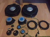 BMW speakers audio set