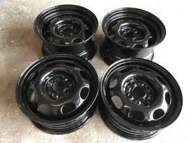 "13"" polo banded steel wheels 4x100"