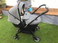 Silver Cross wayfarer eton grey Pram/ pushchair