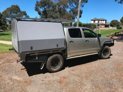 Lift-off Canopy for Twin Cab Ute - Custom Built. 17 mnths old
