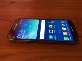 SAMSUNG GALAXY S4 - 16GB STORAGE - FACTORY UNLOCKED TO ALL NETWORKS