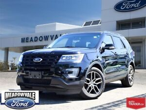 2016 Ford Explorer SPORT, LEATHER, SUNROOF, LEATHER