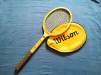 Vintage Authentic Wilson 50's racket