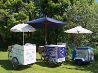 Ice Cream Tricycle Hire Weddings, Parties, Corporate, Aniversaries & Special Occassions