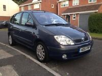 Renault scenic 1.6 dynamique manual with new mot full service history , cheap family car , bargain