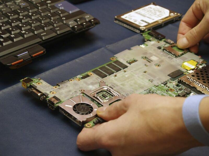 Bastler erfreuen sich am leicht zugänglichen Inneren der Thinkpads. (Foto: Thinkstock)