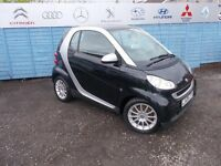 PART X DIRECT OFFERS YOU A SMART FORTWO PASSION AUTO WITH A NEW MOT AND SERVICE!!!