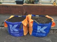 Garden Soil, good quality, free to collect, approx 1.5 tonnes, big and small bags to take
