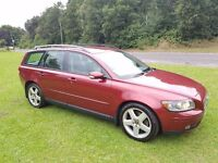 2004 VOLVO V50 2.4 SE PETROL GEARTRONIC MOT AUGUST 17 2 KEYS LEATHER INTERIOR 2 KEEPERS DRIVE AWAY