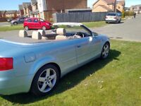 2005 AUDI A4 1.8T SPORT CONVERTIBLE LEATHER INTERIOR ELECTRIC ROOF (SWAP PX P/X PART EXCHANGE WHY?)