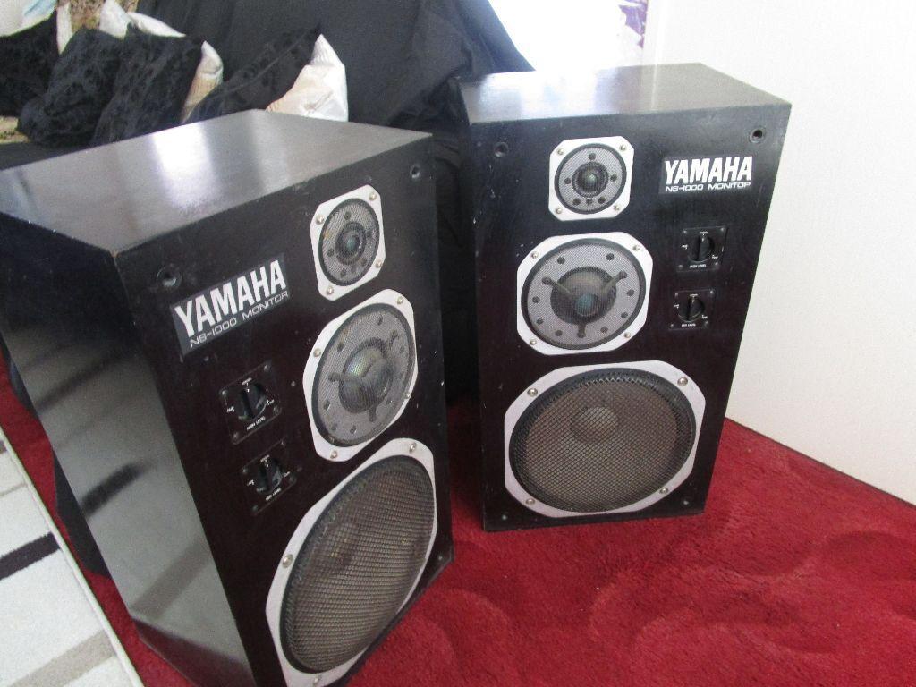 Vintage Yamaha Ns-690 Tri amp studio monitor speakers, NS-1000 brother ...