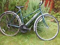 Woman's Raleigh bicycle