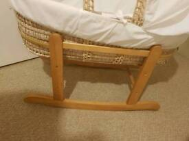 Moses basket and bath chair