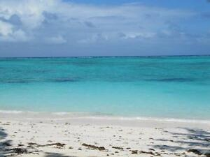 Just steps from the inviting turquoise ocean.....