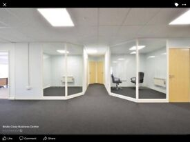 One or two person serviced offices to rent in Wellingborough Northamptonshire