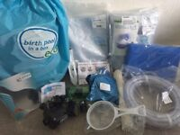 NEW AND UNUSED - Complete birth pool package eco regular - £190 O.N.O.