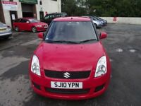 2010 SUZUKI SWIFT SZ2 , ONE LADY OWNER FROM NEW, MOT TILL MARCH 2018, WARRENTED MILES .A1 DRIVER.