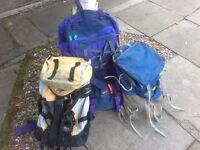 Karrimor Alpiniste, Lone Alpine South Peak,Millet Original Le Sherpa Rucksacks
