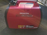 Honda generator EU20i excellent condition 11 months old. Very light use