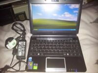 ASUS LAPTOP NETBOOK 8.9'' LCD SCREEN, 12GB SSD, WIN XP PRO, WIFI, WEBCAM,BLUETOOTH,