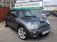 MINI Hatch 1.6 Cooper S 3dr£2,485 p/x welcome FREE WARRANTY. NEW MOT