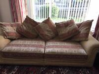 Three seater sofa excellent condition